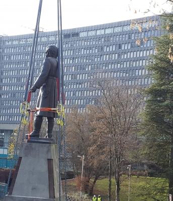 BIT – Déplacement de la Statue de Don Hidalgo